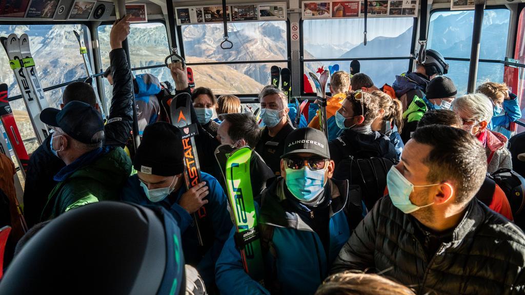 Coronamaatregelen Skigebieden
